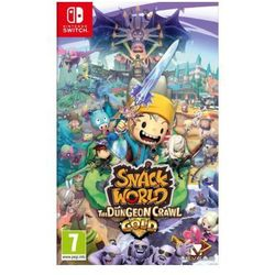 Nintendo Snack world: the dungeon crawl - gold gra switch darmowy transport