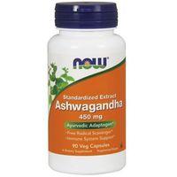 Kapsułki Now Foods Ashwagandha extract standaryzowany 90 kaps.