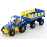 Polesie poland Osiłek traktor z przyczepa nr2 (4810344044563)