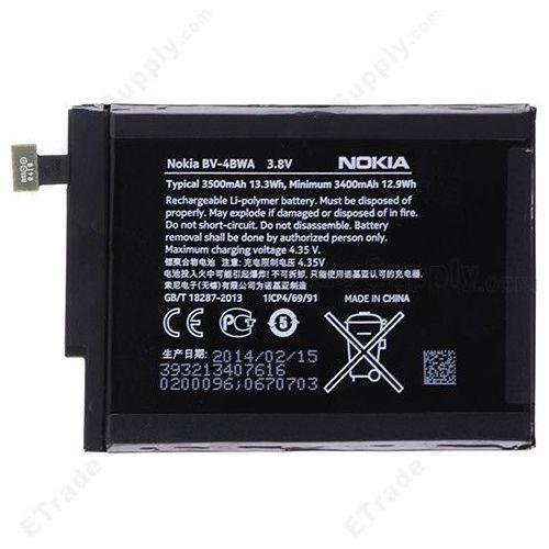 Nokia lumia 1320 / bv-4bwa 3500mah 13.3wh li-polymer 3.8v (oryginalny)