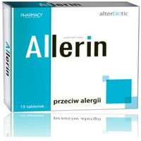 Allerin - przeciw allergii 15 tabl.