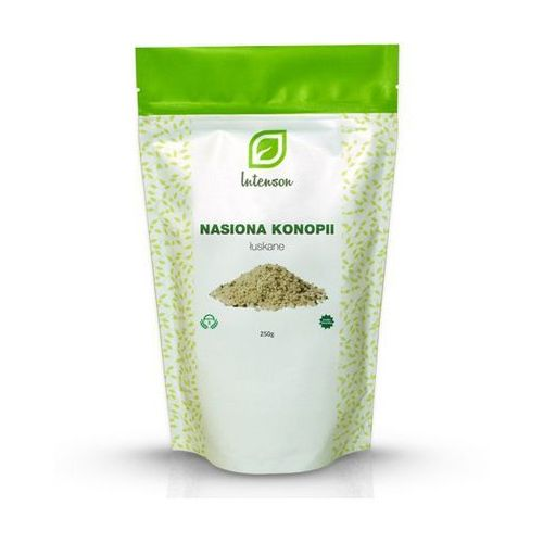 Łuskane nasiona konopi (Cannabis sativa) 250g, INTENSON