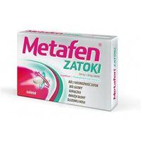 Tabletki METAFEN ZATOKI x 10 tabletek