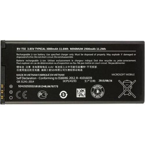 Microsoft Nokia Lumia 950 / BV-T5E 3000mAh 11.6Wh Li-Ion 3.85V (oryginalny), BV-T5E
