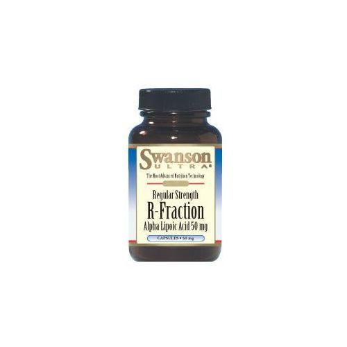 Swanson R-ALA kwas R-alfa liponowy 50mg 60kaps - suplement diety WYPRZEDAŻ