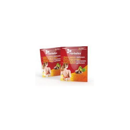 Herbalex Plastry rozgrzewające z kasztanem samoprzylepne (15h) (8595607500081)