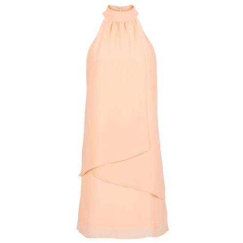 Sukienka bonprix morelowy, kolor pomarańczowy