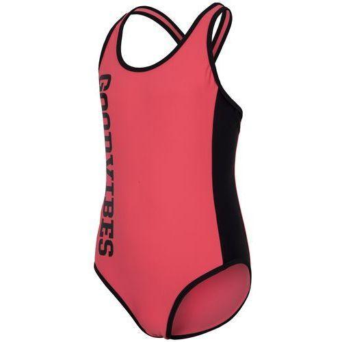 57bcce30ecbbe Jednoczęściowy kostium kąpielowy dla dużych dziewcząt JKOS201 - neon koral