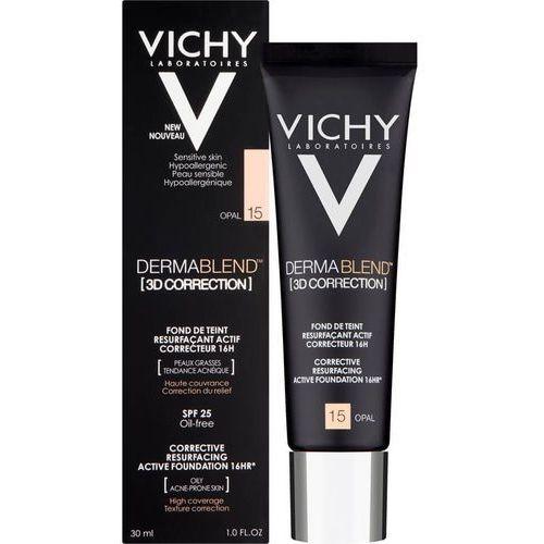 Vichy dermablend 3d correction podkład korygująco-wygładzający spf 25 odcień 35 sand (corective resurfacing active foundation 16 hr) 30 ml - Niesamowity rabat