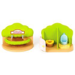 Sylvanian Families Przenośna toaleta i umywalka Tęczowe Przedszkole 2637