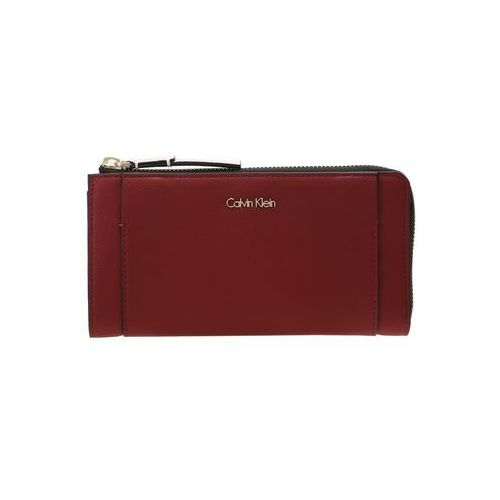 Calvin Klein METROPOLITAN LARGE ZIP AROUND Portfel red
