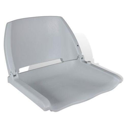 VidaXL Fotel do łodzi, fotel sternika, składany (41 x 51 48 cm)