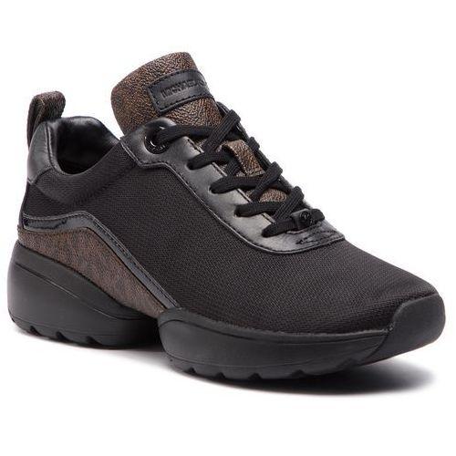 41e022231501e Sneakersy MICHAEL MICHAEL KORS - Jada Trainer 43R9JAFS4D Nylon, kolor czarny