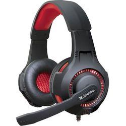 Słuchawki z mikrofonem DEFENDER WARHEAD G-450 podświetlane USB GAMING + GRA