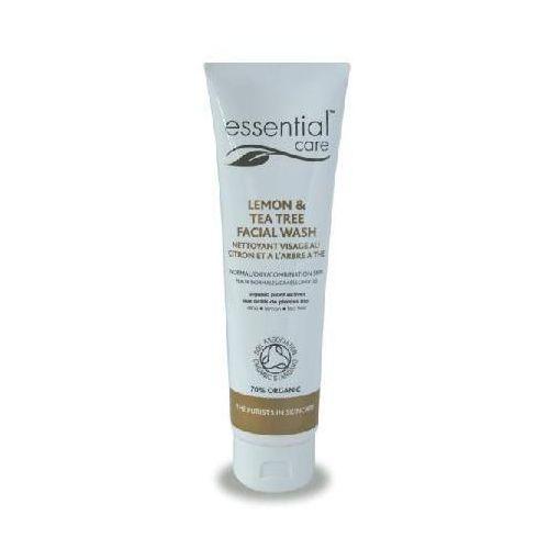 """Essential care Żel do mycia twarzy """"cytryna i drzewo herbaciane"""" 30 ml"""