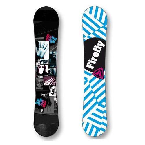 Nowa deska snowboard sabotage 152cm - 70%! Firefly
