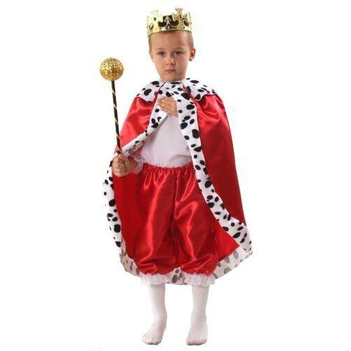 Gam Kostium król czerwony rozmiary: od 110 do 140 cm - s, m, l - s - 110/116 cm