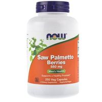 Kapsułki Now Foods Saw Palmetto Berries (Palma Sabałowa) 550 mg - 250 kapsułek