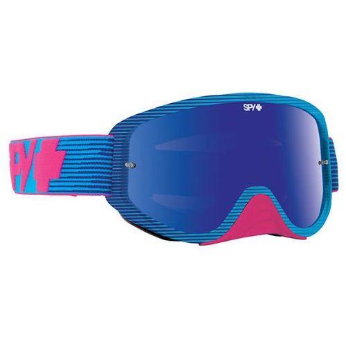 Spy Gogle narciarskie woot race pink - smoke w/ pink spectra (+clear anti fog w/ posts)
