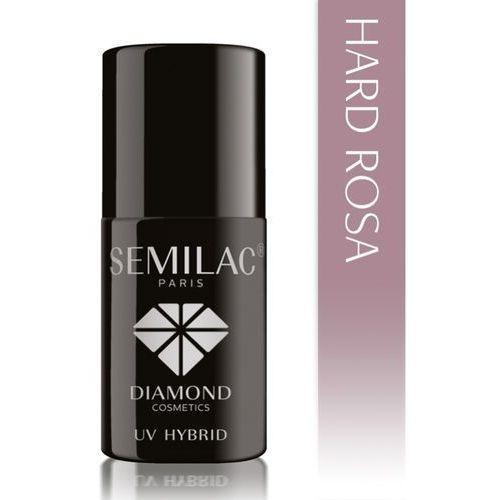 Lakier hybrydowy hard rosa budujący 7 ml marki Semilac