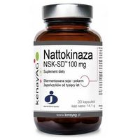 Kapsułki Nattokinaza NSK-SD 100mg 30 kaps.
