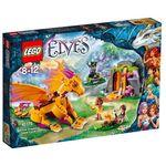 Lego ELFY Elves jaskinia smoka ognia 41175