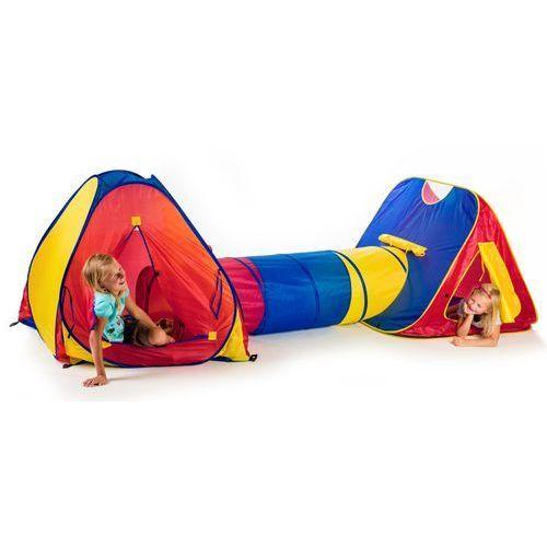 Teddies Namiot dziecięcy 2 szt z tunelem (8592190017033)