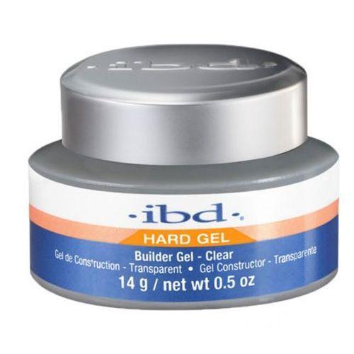 ibd UV BUILDER GEL CLEAR Budujący żel UV do paznokci (przezroczysty) - 14 G.