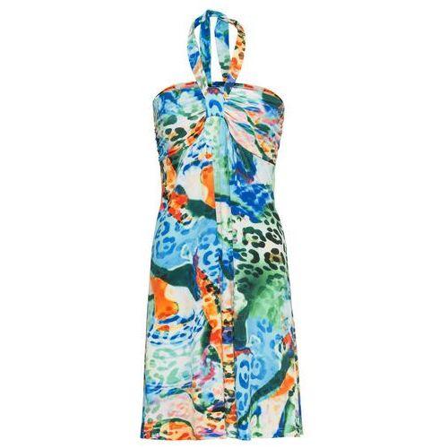 75ec8aeb39 Bonprix Sukienka z kolorowym nadrukiem niebieski - Zdjęcie Bonprix Sukienka  z kolorowym nadrukiem niebieski