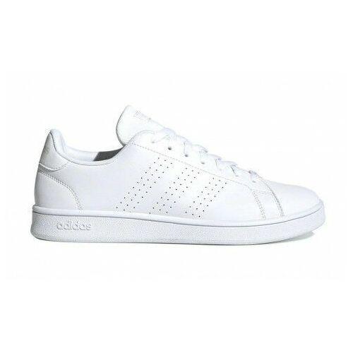 Buty męskie advantage base całe białe marki Adidas