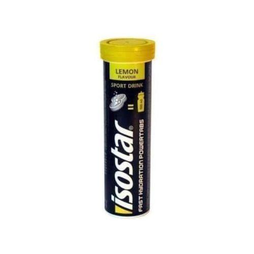 ISOSTAR Power Tabs koncentrat napoju izotonicznego cytryna 10 tabletek musujących - Długi termin ważności