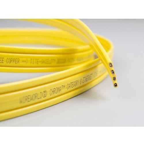 Chroma cat8 - kabel ethernet/lan (che) - (na metry) marki Wireworld