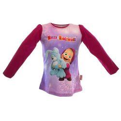 Bluzka dla dzieci z bajki Masza i Niedźwiedź - Różowy ||Kolorowy, kolor różowy