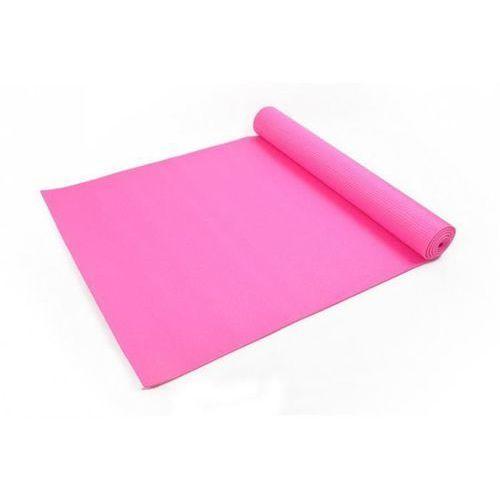Mata do ćwiczeń Jogi Yoga Fitness - Różowa