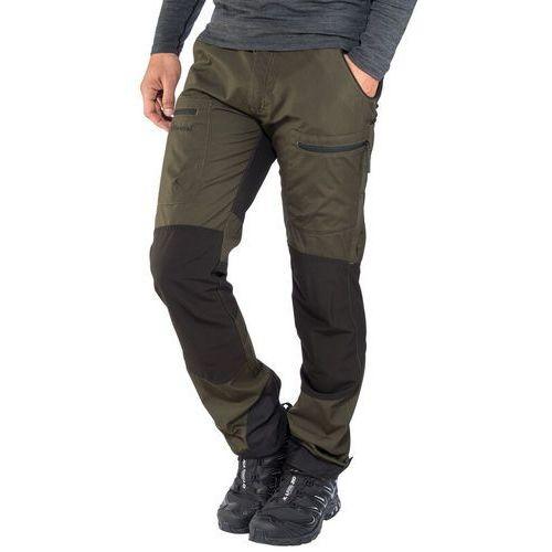 Pinewood caribou tc spodnie długie mężczyźni czarny/oliwkowy 50 2019 spodnie turystyczne