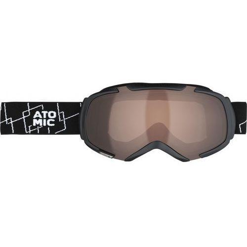 Atomic gogle narciarskie Revel S Black/Amber