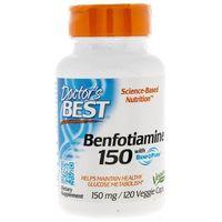 Kapsułki Doctor's Best Benfotiamina 150 mg - 120 kapsułek