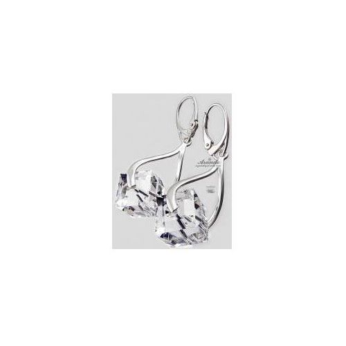 Arande Swarovski kolczyki crystal cube certyfikat