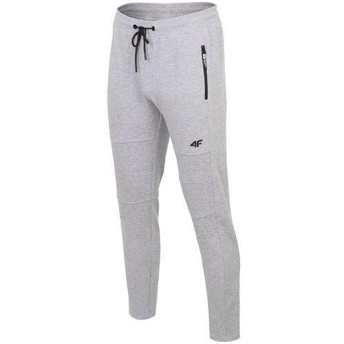 de153e8f42689 Spodnie dresowe męskie SPMD203 - średni szary melanż