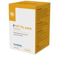 F-Vit D3 4000 (witamina D3) 60 porcji
