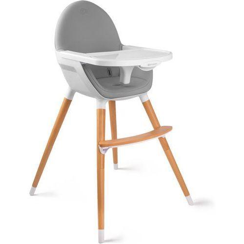 Krzesełko do karmienia KINDERKRAFT FINI 2w1 Szary + DARMOWY TRANSPORT! (5902533902903)