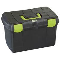 pudełko na przybory do pielęgnacji koni arrezzo, czarne, 321747 marki Kerbl