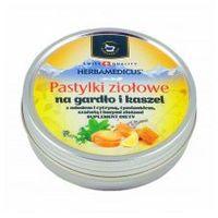 HERBAMEDICUS Pastylki ziołowe na gardło i kaszel 60g (24 szt.) (Szwajcaria) (5905279312111)