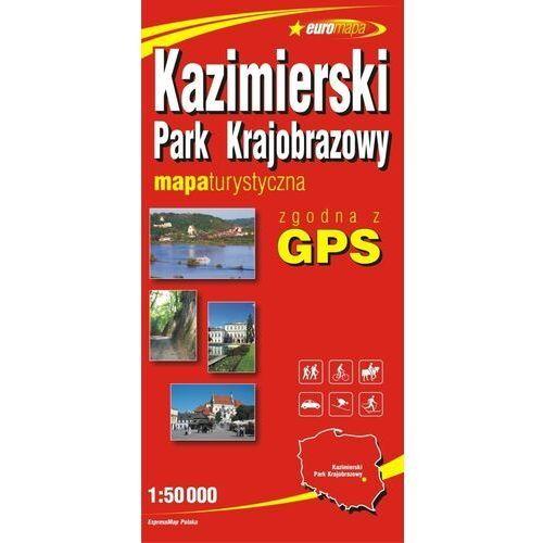 Kazimierski Park Krajobrazowy mapa 1:50 000 ExpressMap (2008)