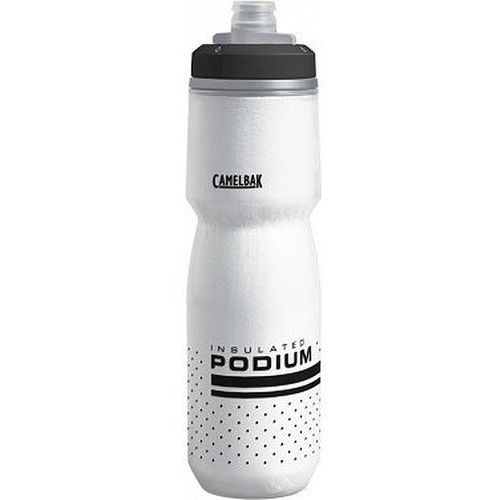 Camelbak bidon podium chill 710 ml - kolor biały