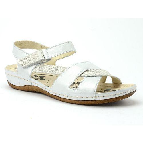 8e868a6826fe7 ▷ Sandały 246 srebro, 1 rozmiar (Helios) - ceny,rabaty, promocje i ...