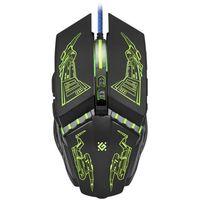 Defender Mysz przewodowa halo z gm-430l 3200dpi 6p + gra