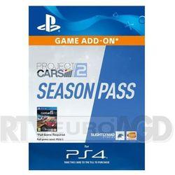 Project cars 2- season pass [kod aktywacyjny] marki Sony