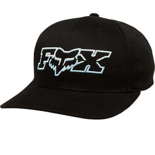 czapka z daszkiem FOX - Youth Duelhead Flexfit Hat Black/Blue (013) rozmiar: OS