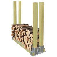 stojak na drewno kominkowe 1000x340x1000 mm marki Vidaxl